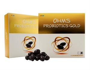 OHMS Probiotics Gold (60's Vegetable Softgels) *For Retail*